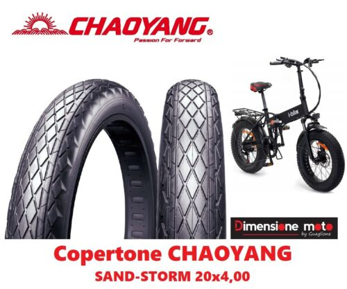 "Copertone Stradale CHAOYANG 20x4,0 Sand-Storm per Bici 20/"" Fat Bike 4410"