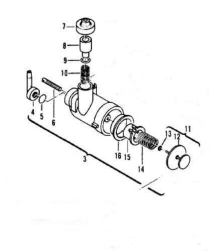 Oil Pump McCulloch 355 365 375 310 320 330 TITAN 7 2.1 chainsaw 219990 110653