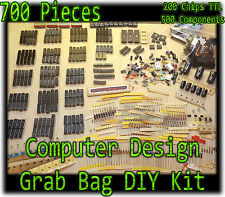 DIY Computer Design 700 Pcs - TTL EEPROM RAM Chips Electrical Components Arduino