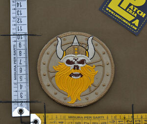Ricamata-Embroidered-Patch-Devgru-034-Viking-034-with-VELCRO-brand-hook