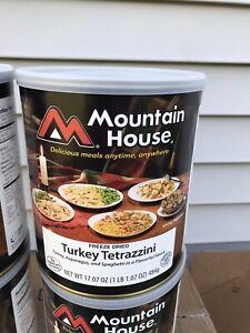 Mountain House Turkey Tetrazinni #10 Can Freeze Dried Survival Food