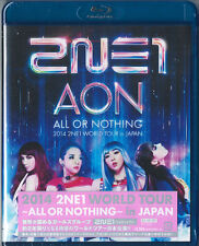 2NE1-2014 2NE1 WORLD TOUR  ALL OR NOTHING  IN JAPAN-JAPAN BLU-RAY O70