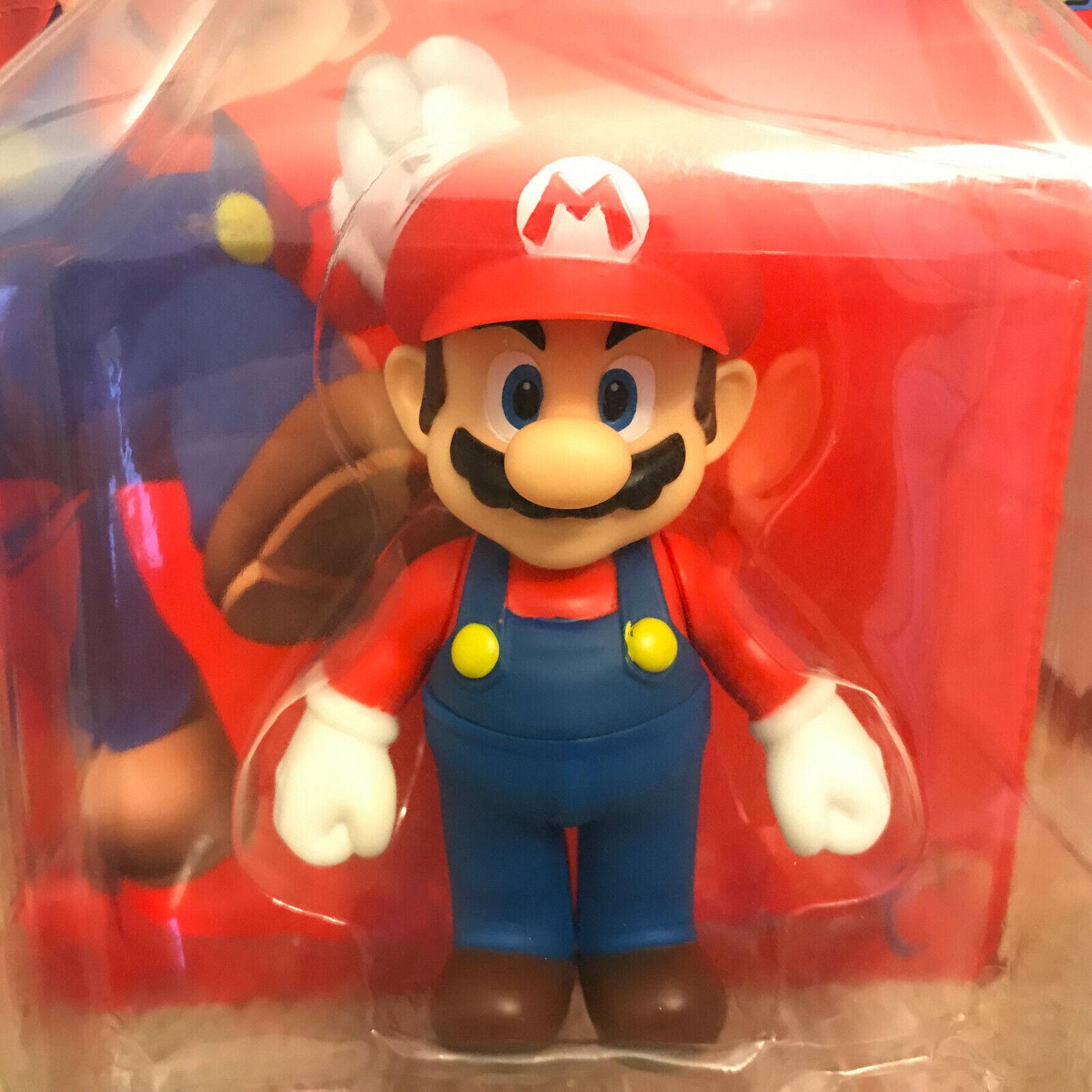 Mario figure figure figure Series 1 - Banpresto 2009 Compelete Set 5 Figures 100% Authentic OG 0542b4