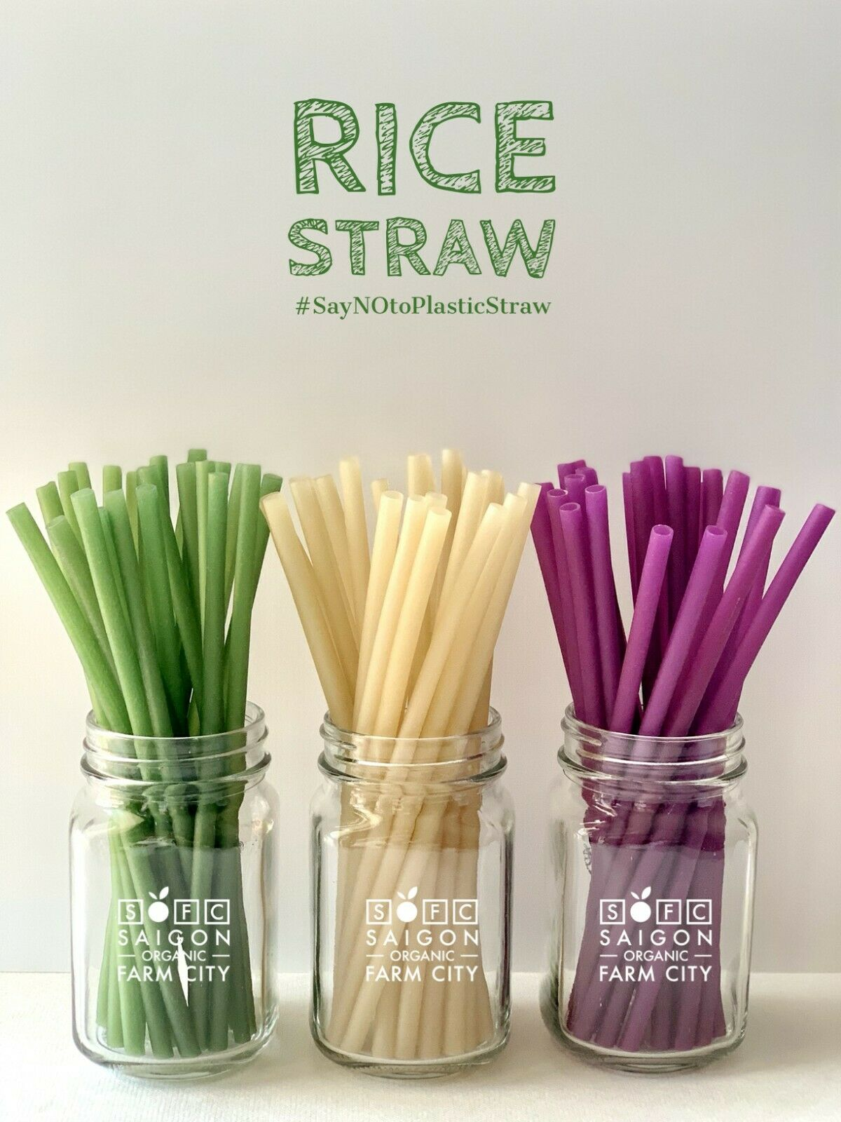 Eco-Friendly Disposable Straw x100 Natural Wheat Drinking Straws  Biodegradable