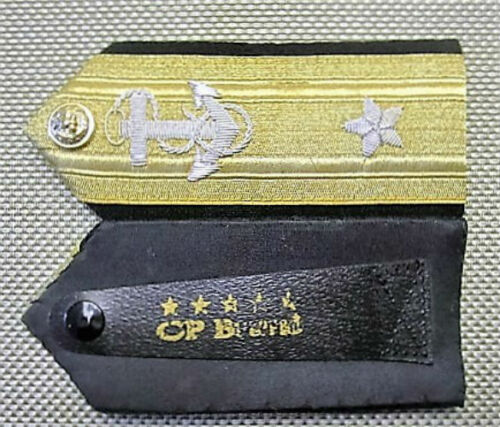 NEW US NAVY HARD SHOULDER BOARDS 1-5 STARS ADMIRALS RANK Hi Quality CP MADE PAIR