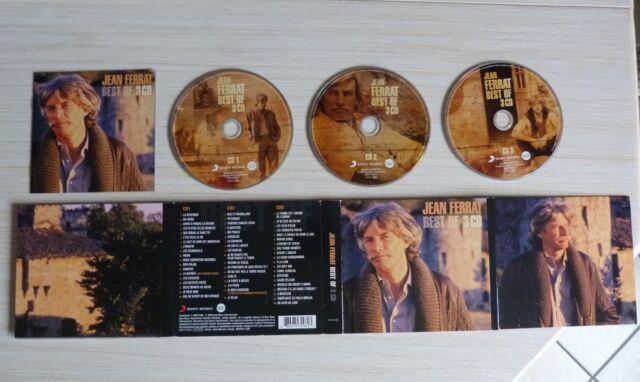 RARE 3 CD ALBUM DIGIPACK BEST OF JEAN FERRAT  57 TITRES 2009