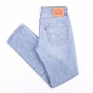 Vintage-Levi-039-s-511-Slim-Straight-Fit-Herren-Blue-Jeans-w31-l32