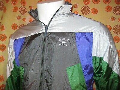 Vintage 90' Ancienne VESTE SURVÊTEMENT ADIDAS Vert Gris Violet F128 12ans = S XS | eBay