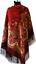Authentique-Grand-Russe-Pavlovo-Posad-Echarpe-Chale-Etole-100-laine-125x125cm miniature 7