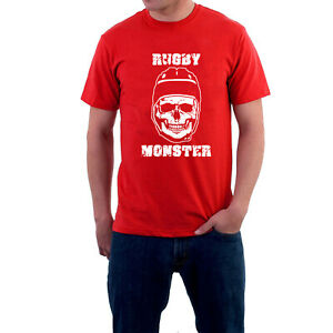 Rugby-Fans-T-shirt-or-Hoodie-Skull-Rugby-Monster-Scrum-Machine-by-Sillytees