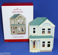 Hallmark Series Ornament Nostalgic Houses And Shops 30 2013 Stately Victorian