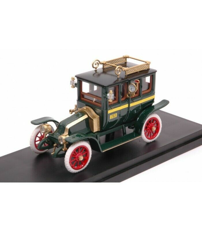 RENAULT TIPO X TAXI 1907 verde 1 43