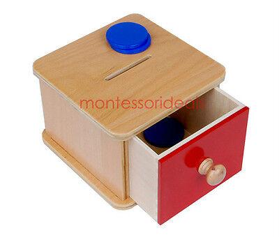 New Montessori Coin Box