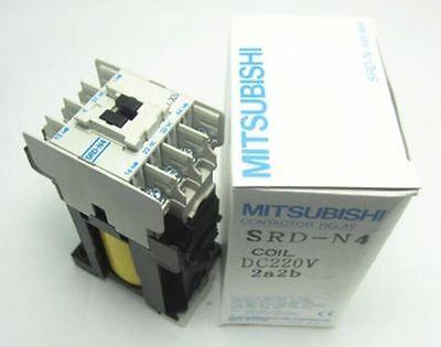 MITSUBISHI SRD-N4 CONTACTOR RELAY DC24V 4A 4NO  NEW IN BOX