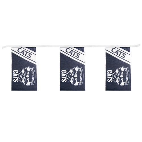 Geelong-Cats-AFL-Bunting-5-Meters-Bunting-fast-shipping