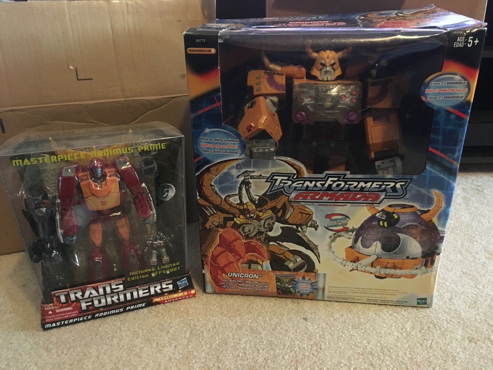 Transformers Armada 2003 Unicron Figure (Great Condition)