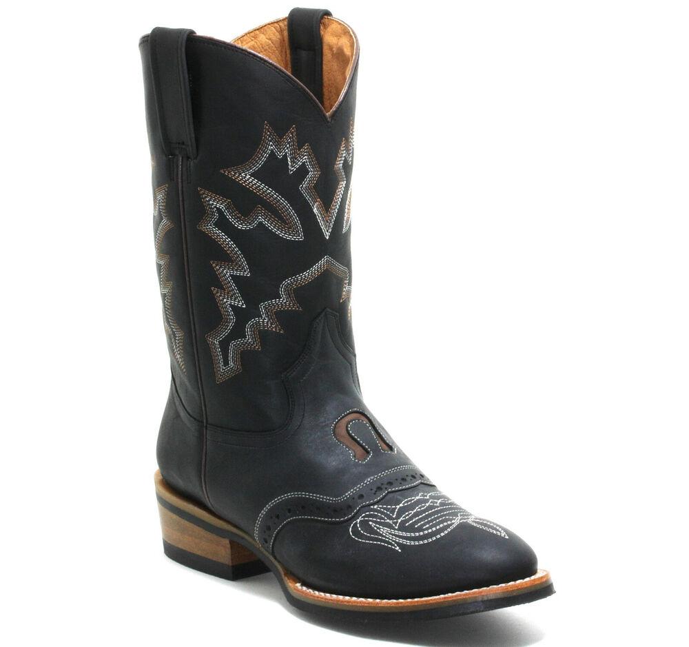 280 Bottes De Cowboy Western Westernreitstiefel D'Équitation Texas 43