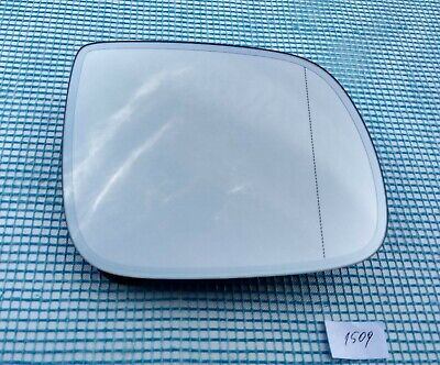 Wide Angle 2008 May to 2016 Q5 RIGHT SIDE Wing Mirror Glass With Base Heated