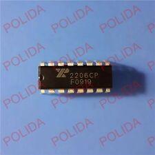 50pcs Monolithic Function Generator Ic Exar Dip 16 Xr2206cp 2206cp