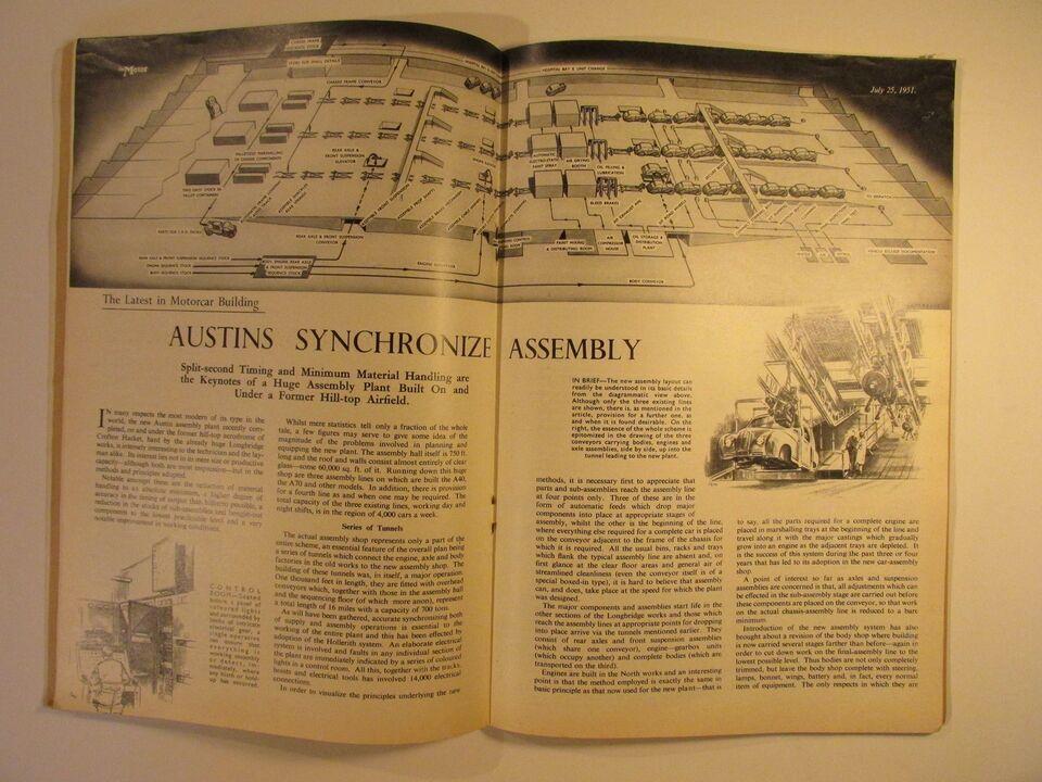 The Motor 25. July 1951, emne: bil og motor
