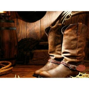 DIY-Diamond-Painting-5D-Rhinestone-Embroidery-Cowboy-Boots-Cross-Stitch-Mural