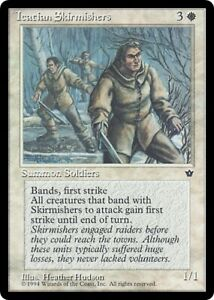 Icatian Lieutenant Fallen Empires PLD White Rare MAGIC MTG CARD ABUGames