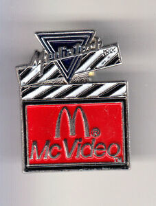 RARE-PINS-PIN-039-S-MC-DONALD-039-S-RESTAURANT-CINEMA-CLAP-MOVIE-VIDEO-MEDIATECH-15