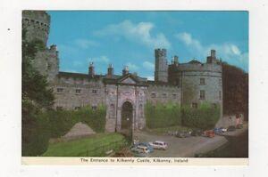 The-Entrance-To-Kilkenny-Castle-Ireland-Postcard-882a