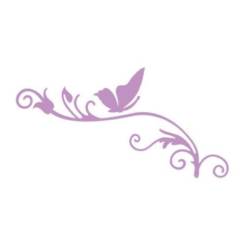 Couture Creations Intricutz Secret Garden Butterfly Flourish 1 Dies 278