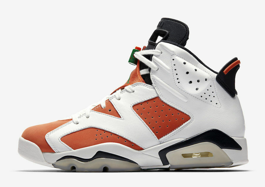 2017 Air Jordan 6 6 6 VI Retro Gatorade Orange Like Mike OG 384664-145 men sz 8-13 005235