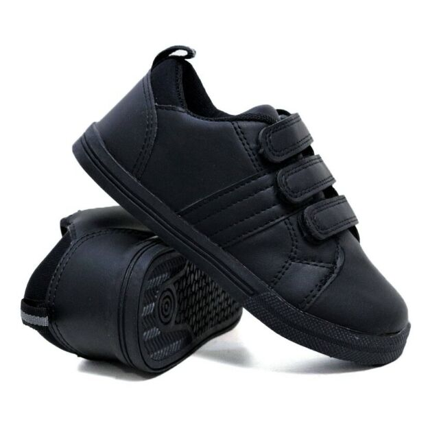 BOYS GIRLS SHOCK ABSORBING RUNNING TRAINERS CASUAL SCHOOL SPORTS SHOES SIZE UK