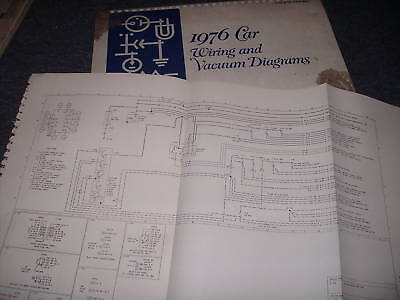1976 Lincoln Continental Wiring Diagrams Manual Set Ebay