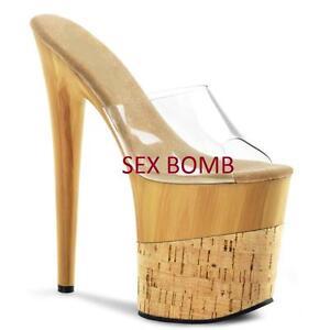 Tacco Sexy Donna Scarpe Sandali 41 Plateau 20 Dal Cm Al Fetish 35 IyYb7fg6v