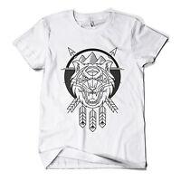 Killer Tiger T Shirt Fashion Print Cat Hipster Urban Design Mens Girls Tee Top