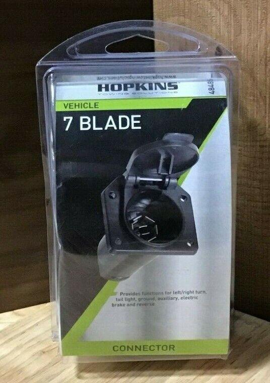 Hopkins 48485 7 Pole RV Blade Vehicle Connector