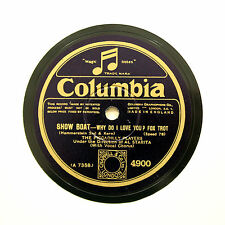 """THE PICCADILLY PLAYERS (Starita) """"Why Do I Love You?"""" COLUMBIA 4900 [78 RPM]"""