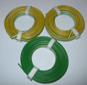 1m-0-53-Triple-Brin-3x5m-Minitrix-Jaune-Blanc-Vert-Neuf