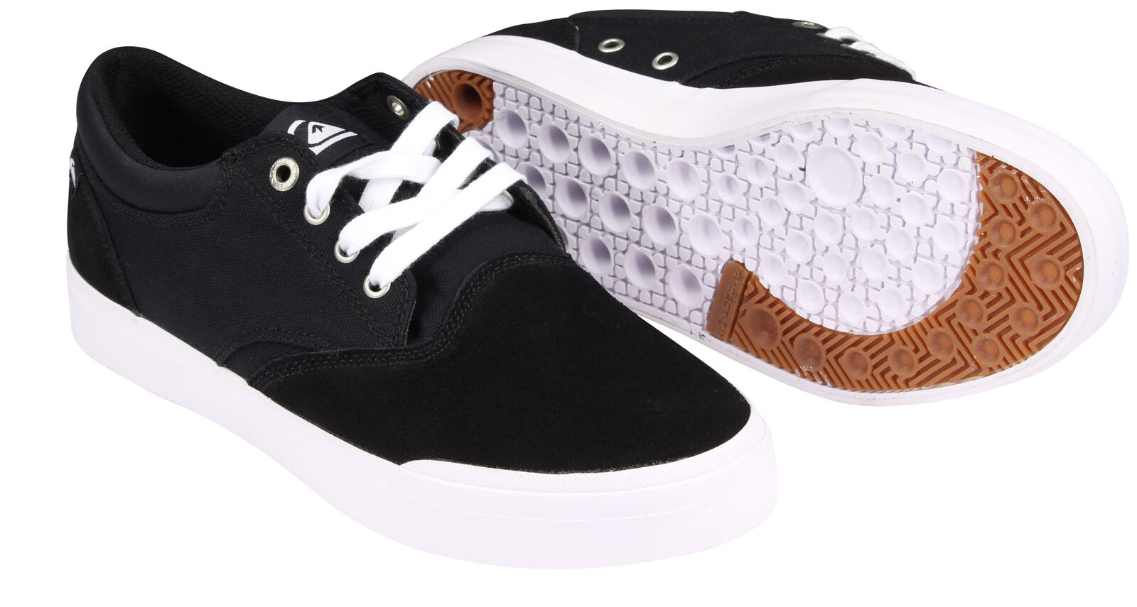 Quiksilver Verant Low-Top Shoes (Black/White)