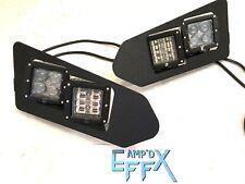 POLARIS RANGER 900 XP  - UPGRADE TO LED CUBE HEADLIGHTS KIT fit 2013-2019 CREW
