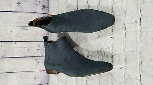 NEW-Aldo-Chelsea-Boot-Navy-Suede-MEN-039-S-SIZE-12-M