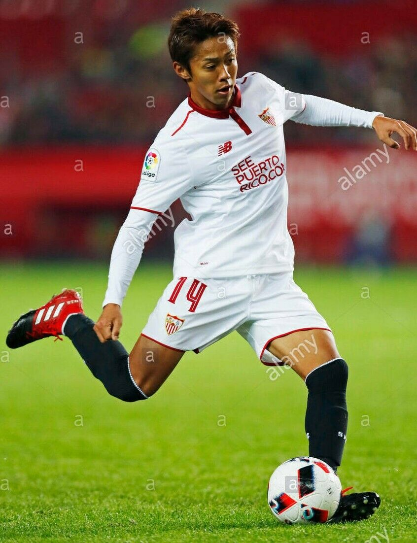 botas de fútbol personal Adidas jugador internacional japonés Hiroshi Kiyotake