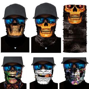 Joker-Skull-Motorcycle-Biker-Neck-Tube-Scarf-Snood-Face-Mask-Warmer-Balaclava