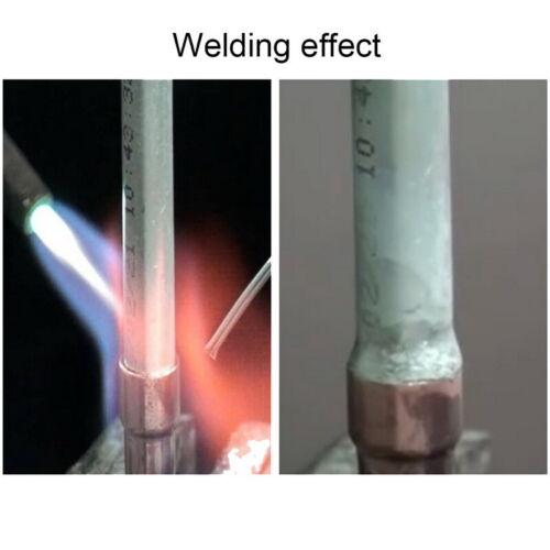 20PCS Silver Aluminium Welding Brazing Rods Wire Low Temperature 2mm*50 cm Sale