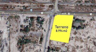 Terreno comercial en venta Sobre carretera Guaymas - Obregon.