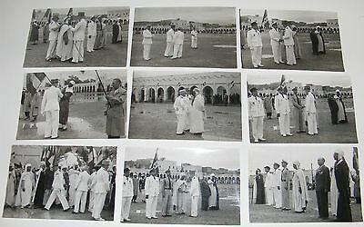 2842/ 9 PHOTOS MILITAIRES 1953 CIEES ALGERIE / DÉCORATION HONNEUR MÉDAILLE