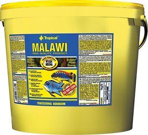 Tropical Malawi Flocon 11 Litre Aliment En Flocons