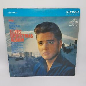 Elvis-Presley-Elvis-Christmas-Album-1967-Vinilo-Lp-Rca-Victor-Usa