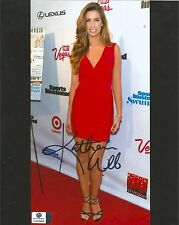 Katherine Webb authentic signed autographed 8x10 photograph holo GA COA