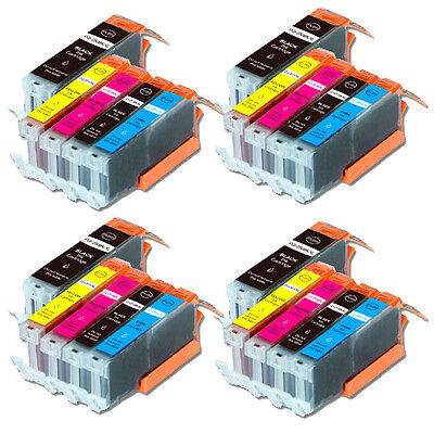 20 PK Printer Ink Cartridge for Canon PGI-250 CLI-251 Pixma MG6620 MX922 MX722