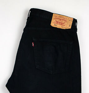 Levi's Strauss & Co Hommes 501 Jeans Jambe Droite Taille W38 L32 AKZ731